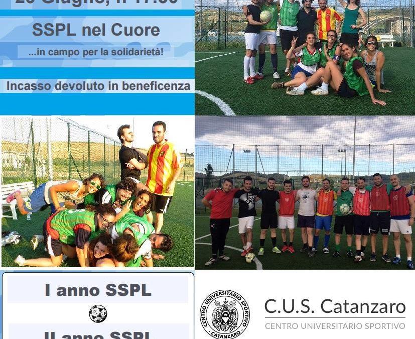 Specializzandi SSPL e CUS Catanzaro in campo per la solidarietà